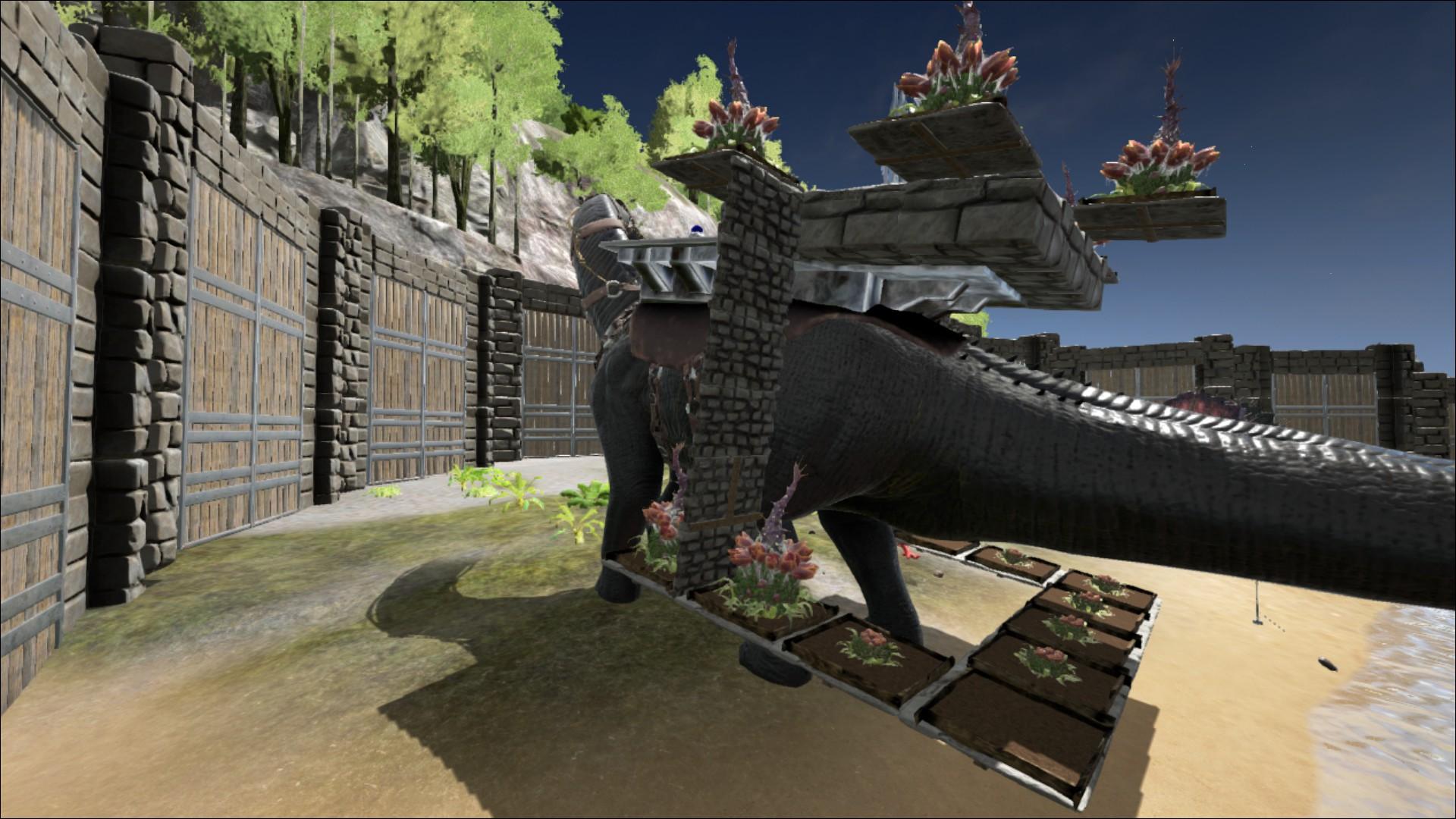 ark bronto platform saddle build limit kinds of quilt