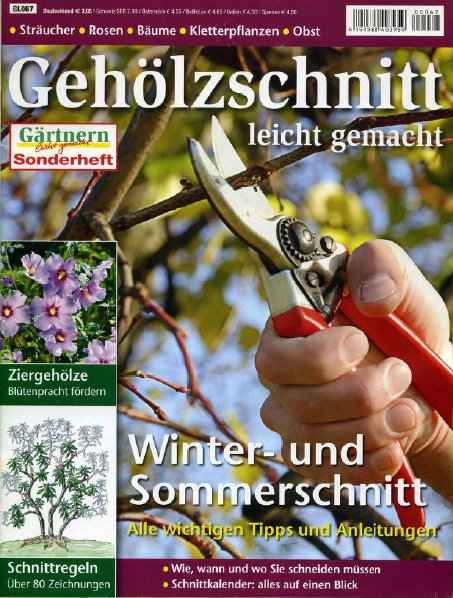 Cover: Gärtnern leicht gemacht Sonderheft - Gehölzschnitt