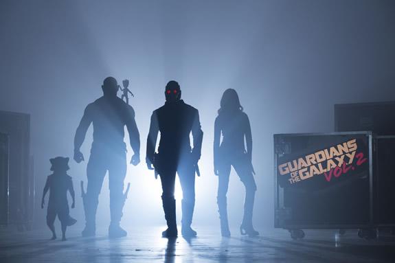 Guardians of the Galaxy Vol. 2 Startmeldung