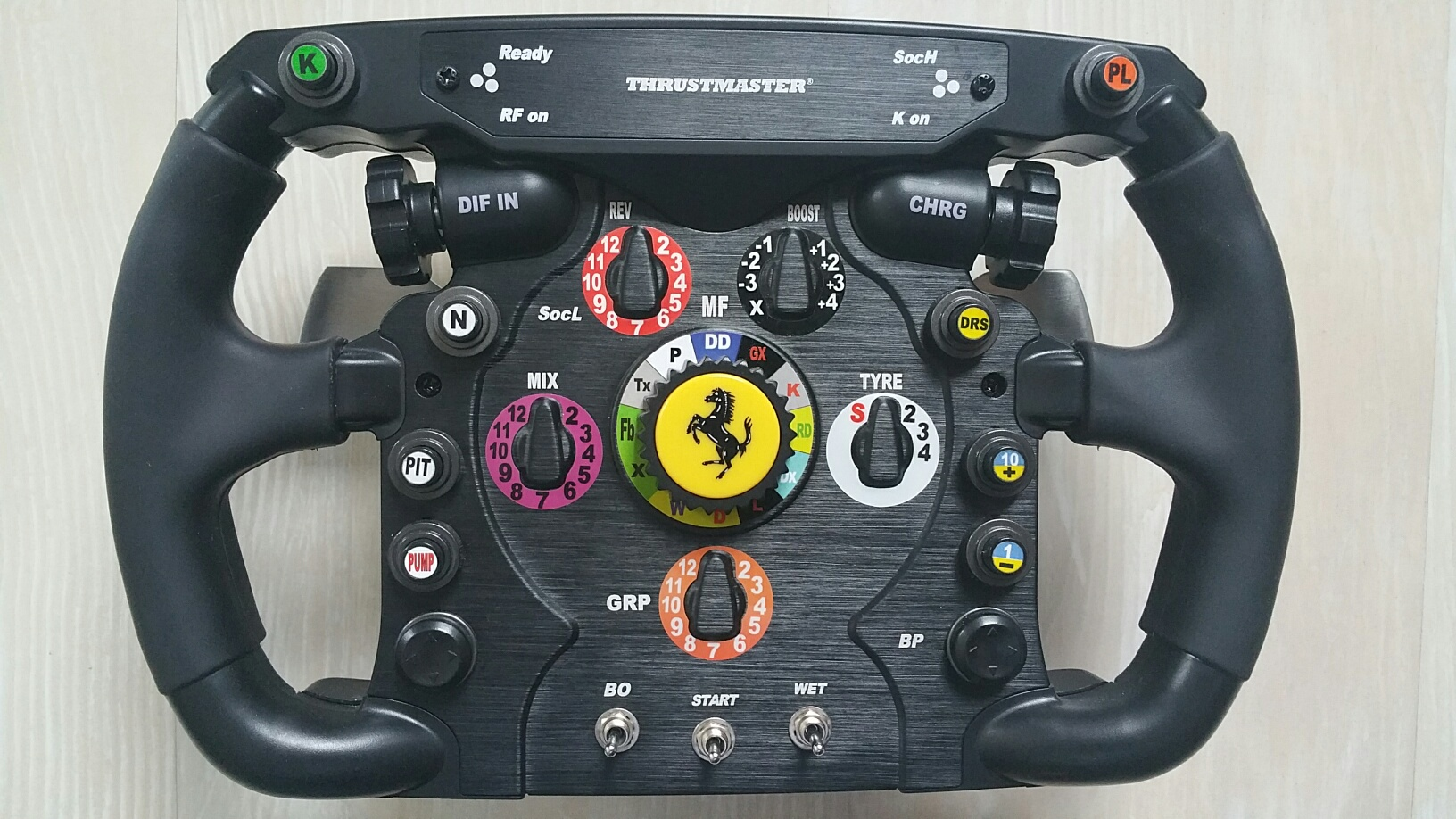 verkaufe mein thrustmaster ferrari f1 wheel add on wie neu. Black Bedroom Furniture Sets. Home Design Ideas