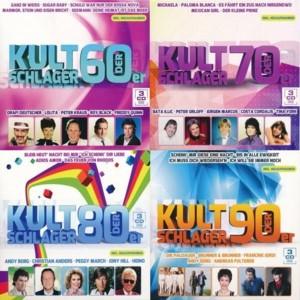 Kultschlager der 60er / 70er / 80er / 90er (12CDs) (2014)
