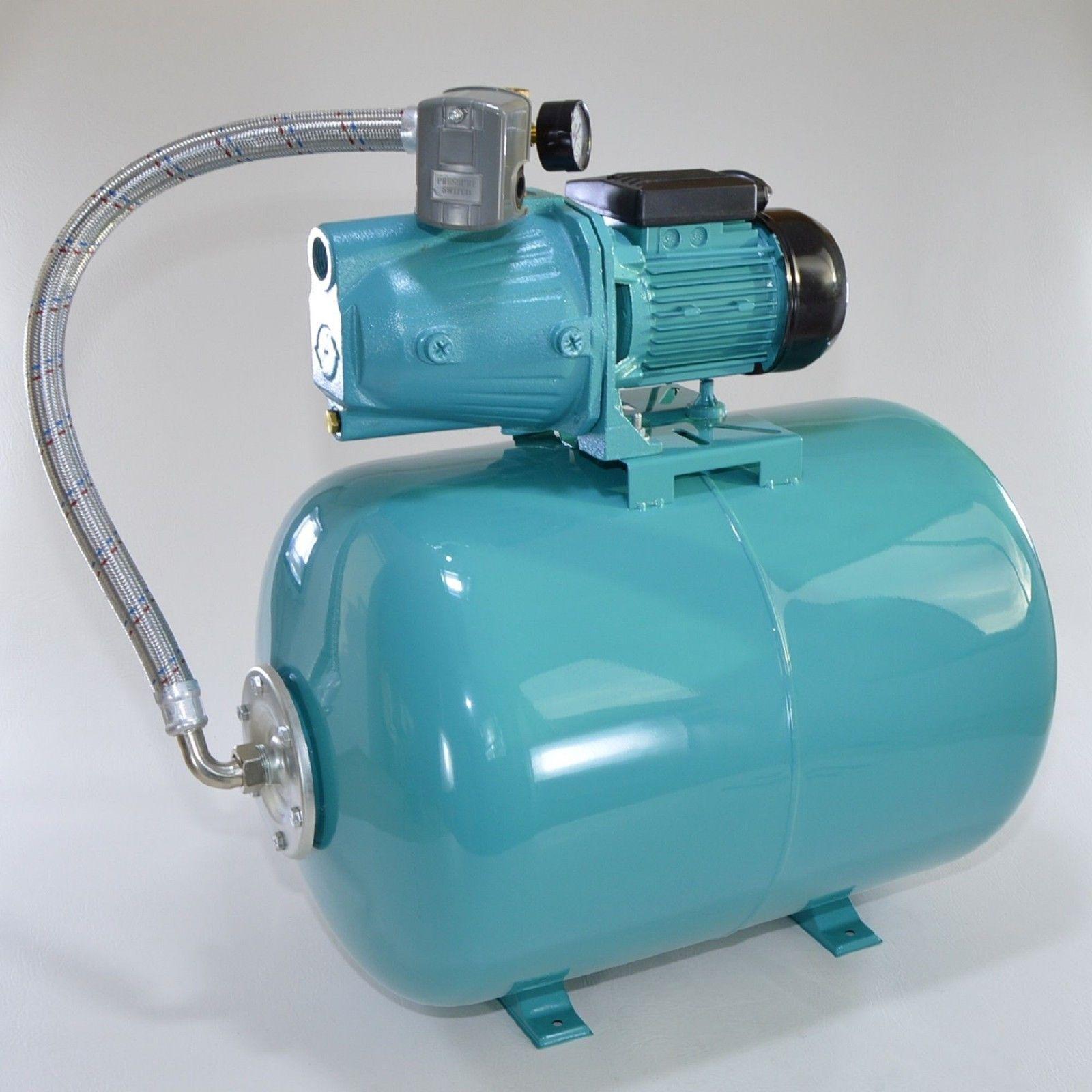 100 l hauswasserwerk pumpe 1100 edelstahl hauswassrautomat gartenpumpe ebay. Black Bedroom Furniture Sets. Home Design Ideas