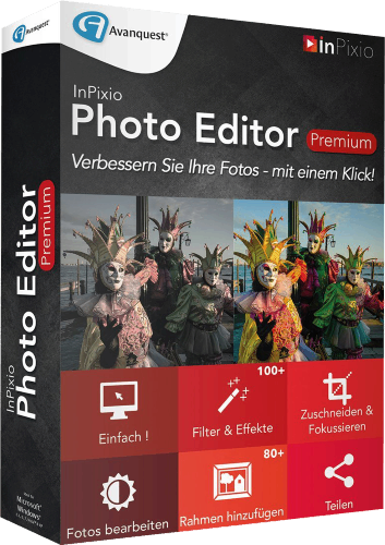 download InPixio Photo Editor Premium 1.7.6278 Multilanguage