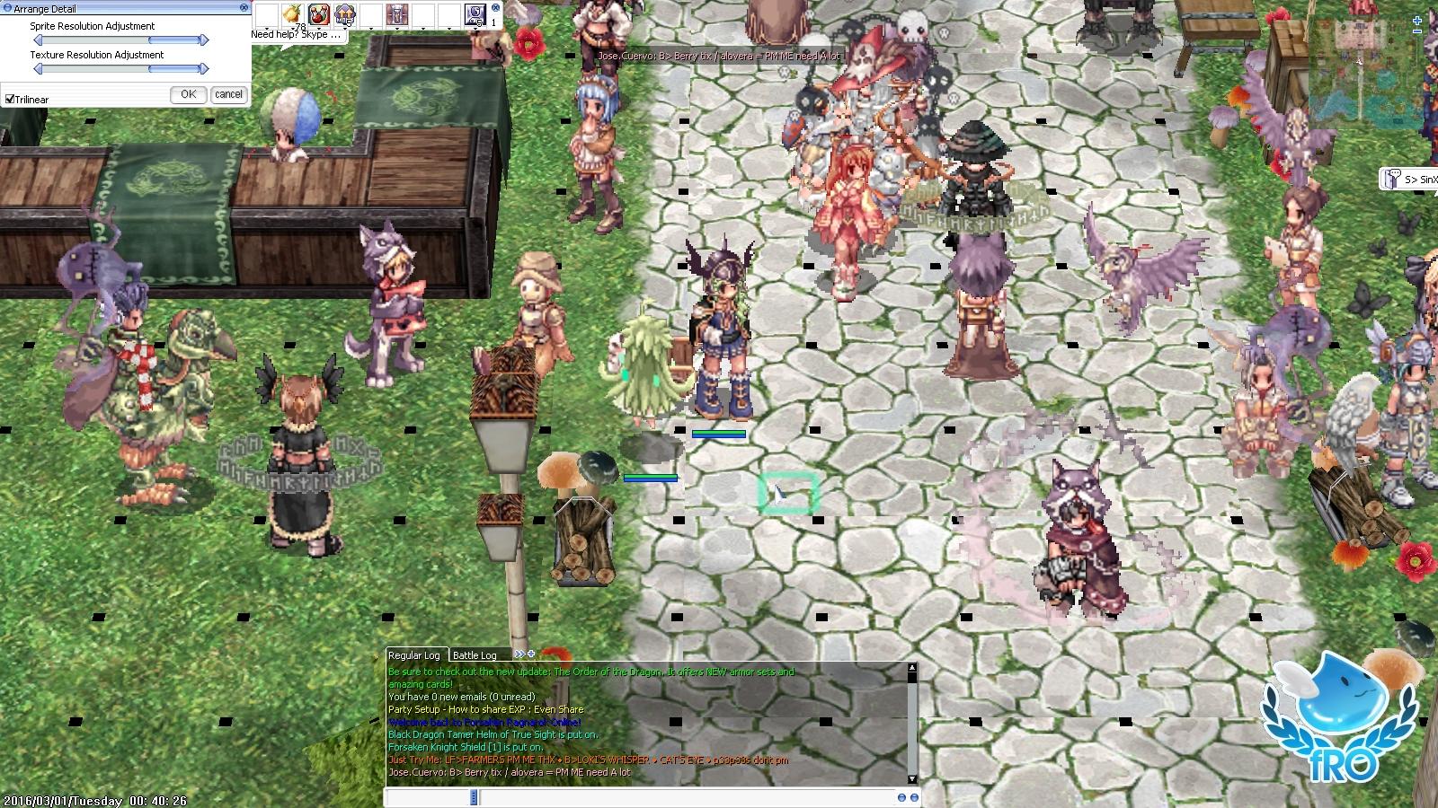 Image result for black spots ragnarok online