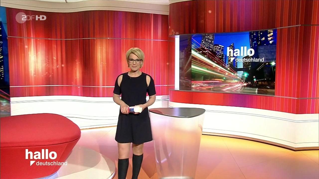 Andrea Ballschuh in Hallo Deutschland am 01.03.2016