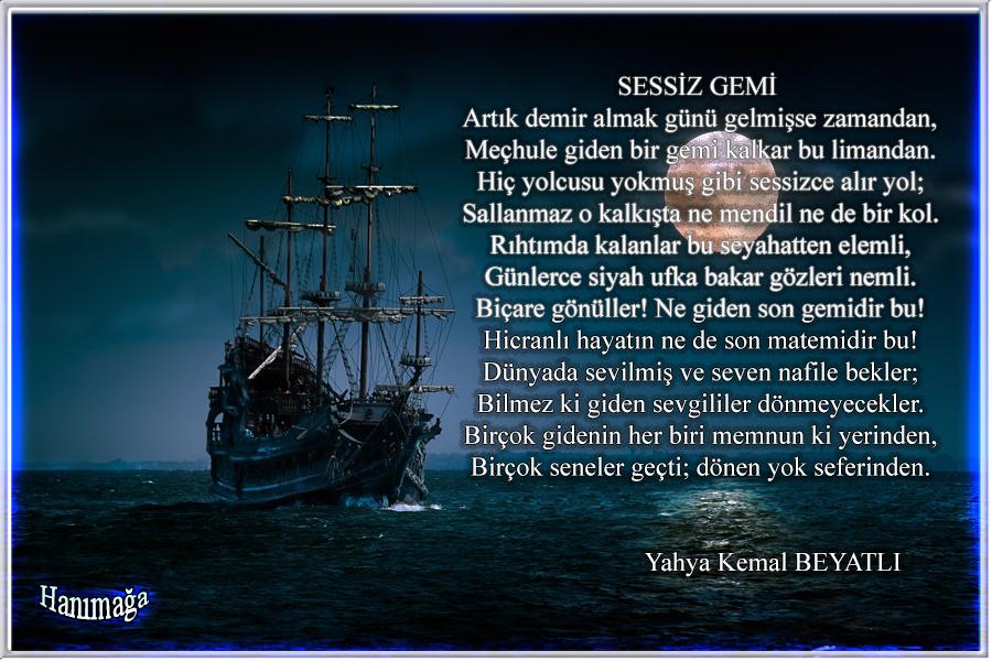 Best Sessiz Gemi şiiri Incelemesi Image Collection