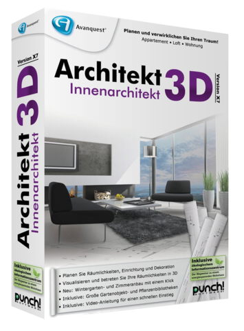 Grafik architekt 3d innenarchitekt x9 for Was ist ein innenarchitekt
