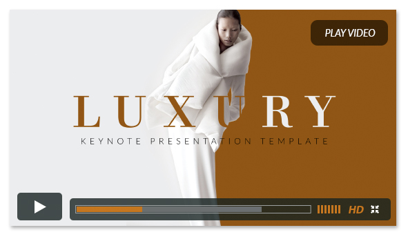 Luxury Keynote Presentation Template