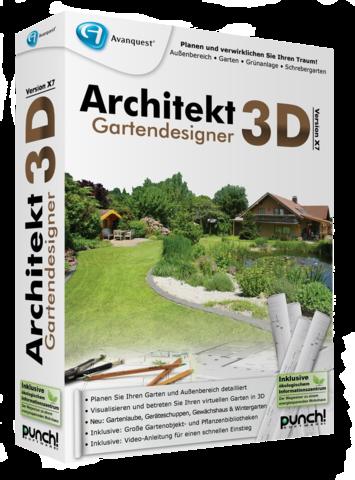 Grafik architekt 3d gartendesigner x9 for Architekt gartendesigner 3d