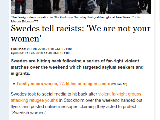 http://www.thelocal.se/20160202/swedish-women-tell-racists-im-not-your-woman