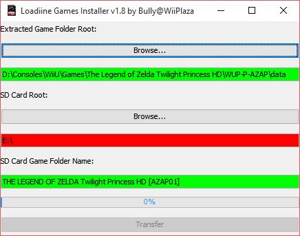 BullyWiiPlaza/Loadiine-Games-Installer A convenient utility