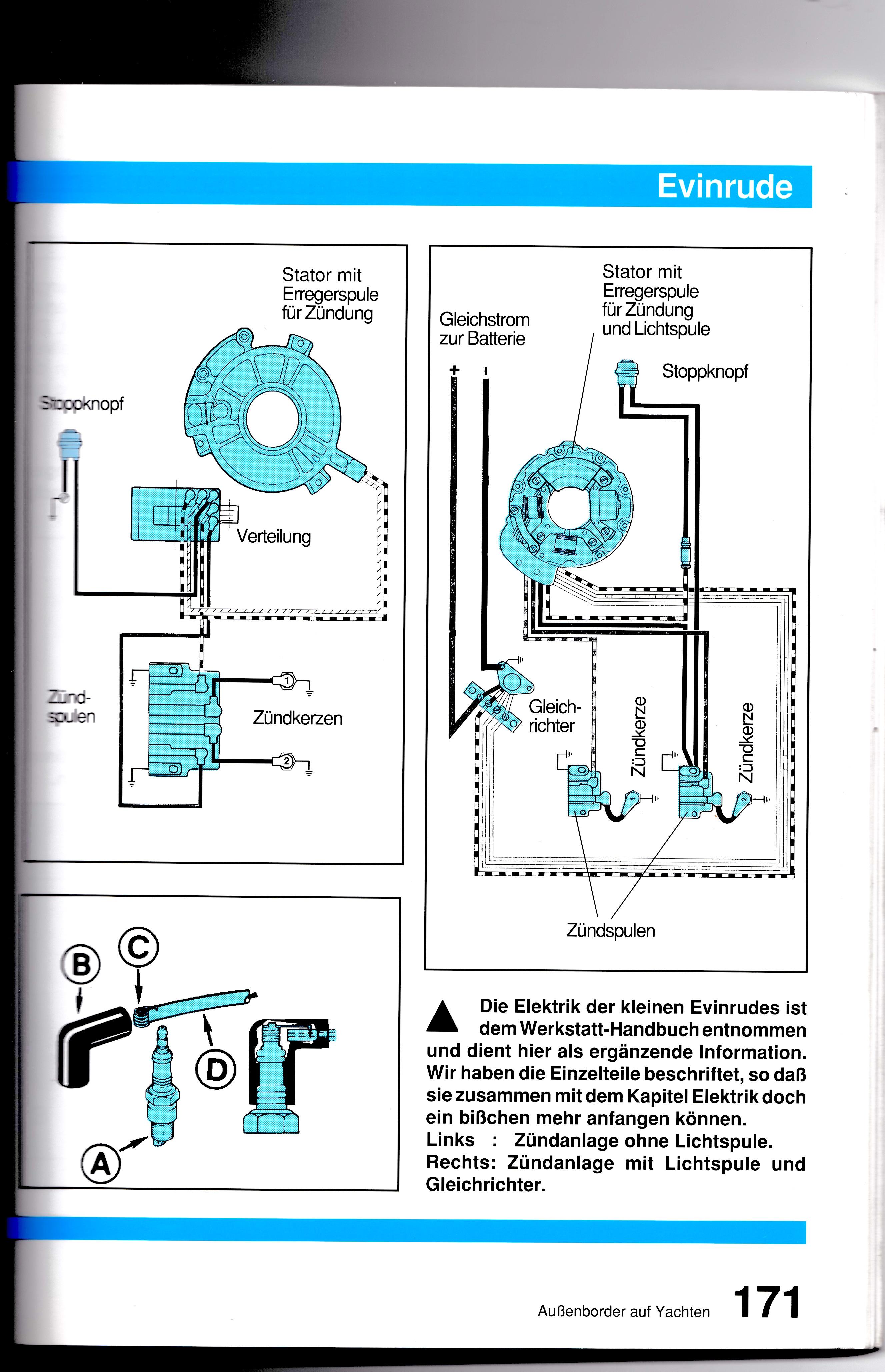 Tolle Yamaha 40 Außenbord Schaltplan Ideen - Elektrische Schaltplan ...