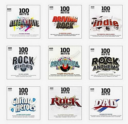 100 Hits Rock Collection (45 CD) (2014)