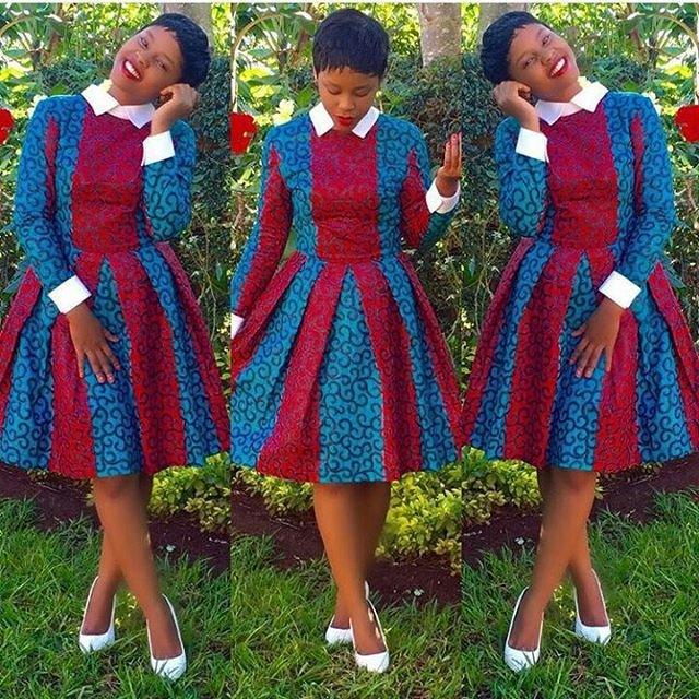 Sexy short ankara dresses for women fashion qe