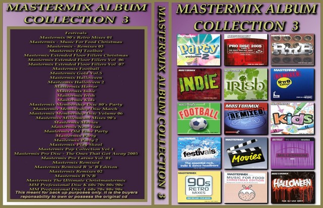 Mastermix Album Collection Volume 3