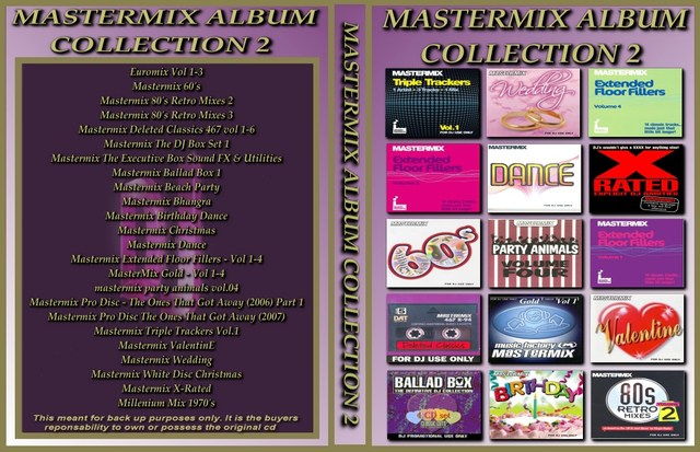 Mastermix Album Collection Volume 2