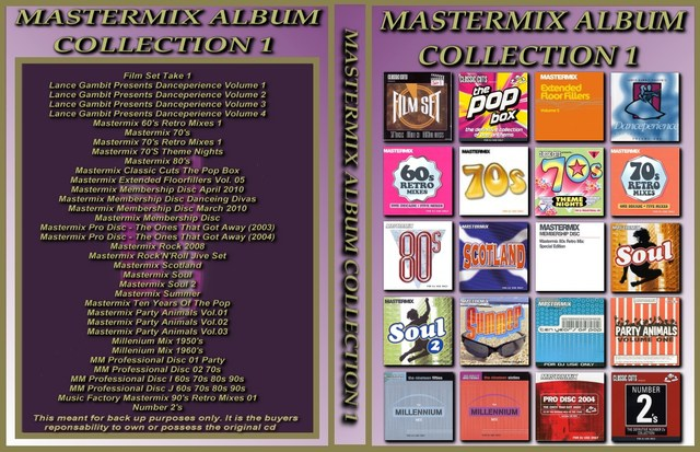 Mastermix Album Collection Volume 1