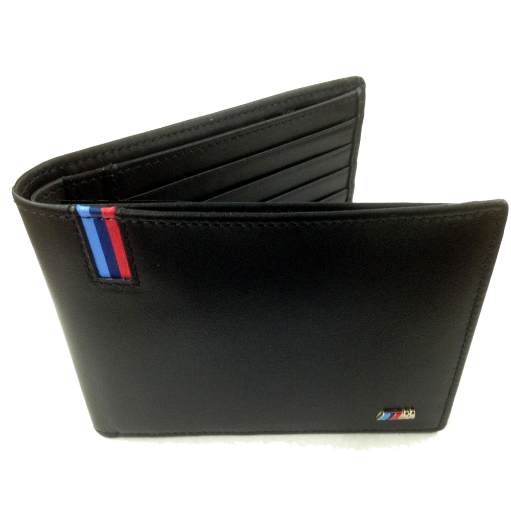 bmw m geldb rse herren schwarz m nzfach brieftasche wallet. Black Bedroom Furniture Sets. Home Design Ideas