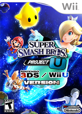 download Super Smash Bros. Project U Wii U and 3DS Version Wii NTSC [WBFS]