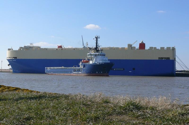 erwartete schiffe in emden