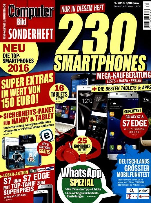 computer bild sonderheft smartphones nr 1 2016 link files. Black Bedroom Furniture Sets. Home Design Ideas