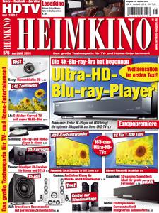 Heimkino - Testmagazin fuer Tv und Home-Entertainment Mai-Juni 05-06-2016