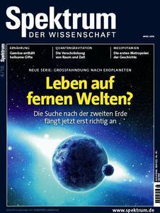 Spektrum der Wissenschaft Magazin April Nr 04 2016