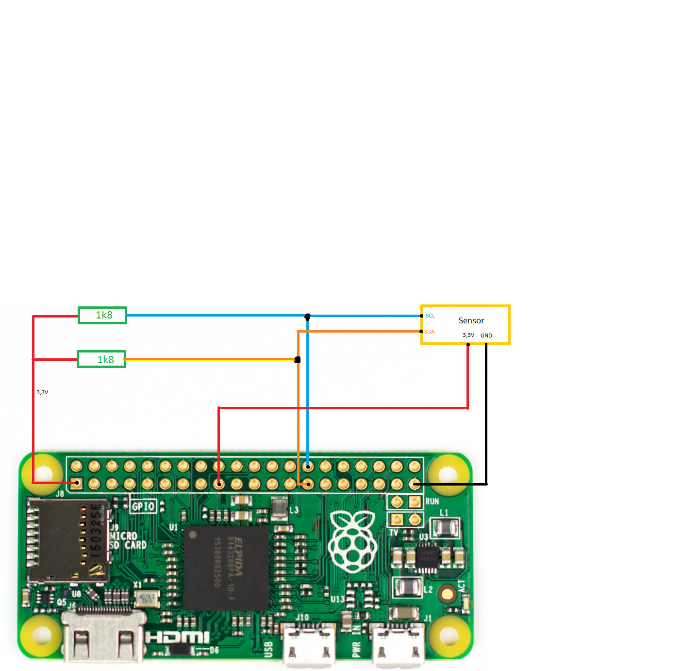solved) i2c-0 (Pin 27/28) on a Pi Zero - Raspberry Pi Forums