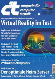 c´t Magazin fuer Computertechnik No 08 vom 01 April 2016