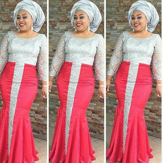 Nigerian Lace Styles Designs For Weddings Fashion Qe