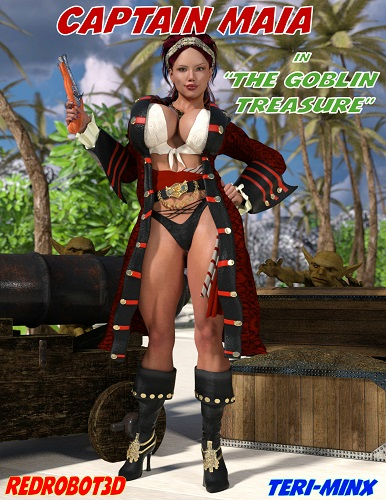 Redrobot3D - Captain Maia & The Goblin Treasure