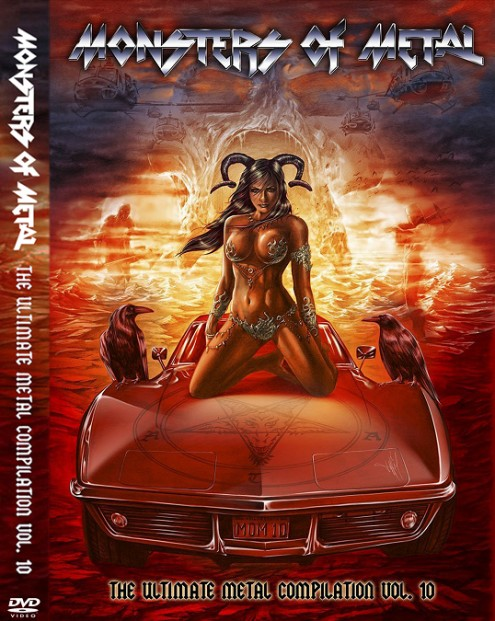 VA - Monsters Of Metal - The Ultimate Metal Compilation Vol.10 (2016) 2DVD