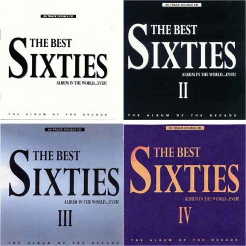 The Best Sixties Album In The World Ever 4 CD 1995 1998