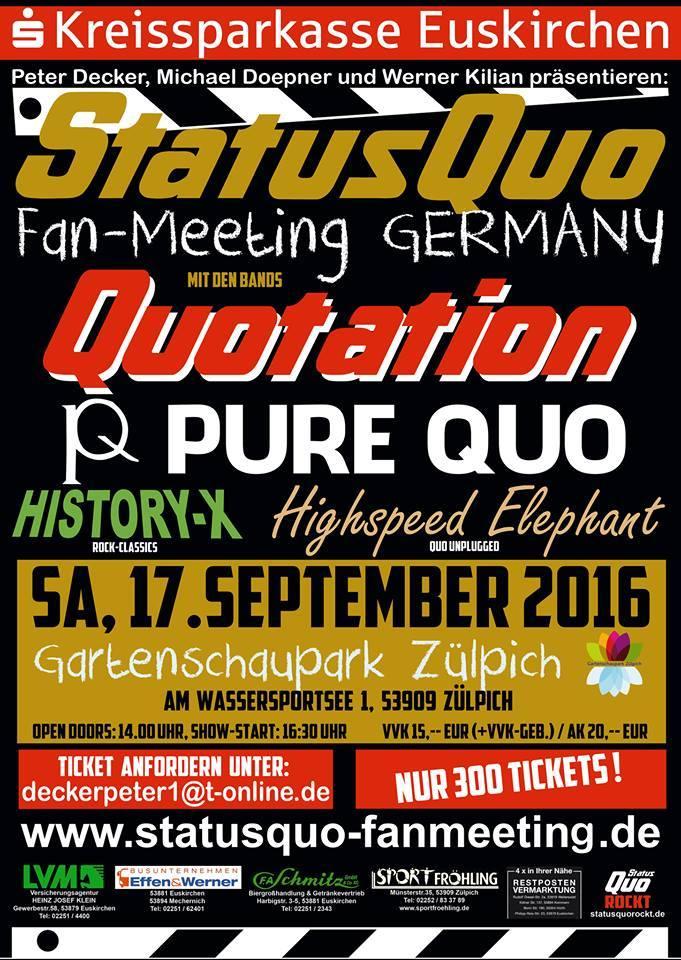 Fann meeting status quo