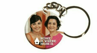 Wooden key chain for mom