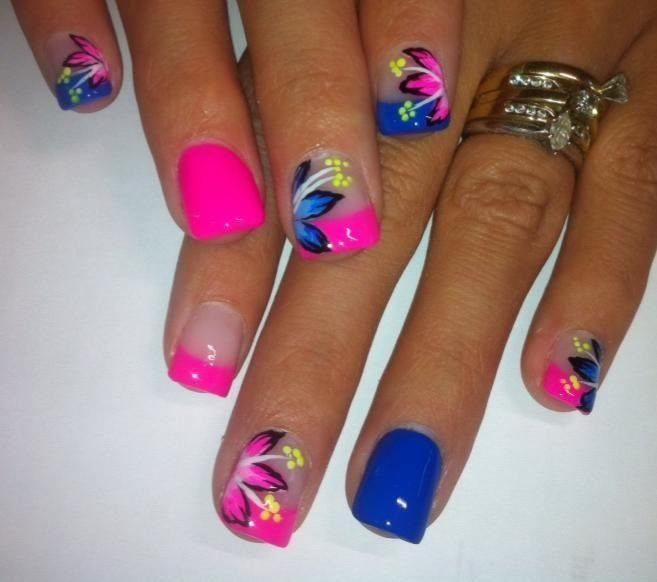nail art designs bright colors - Nail Art Designs Bright Colors - To Bend Light