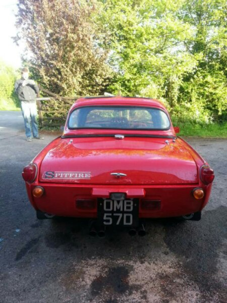 My Latest Purchase Mk2 Spitfire The Triumph Dolomite Club
