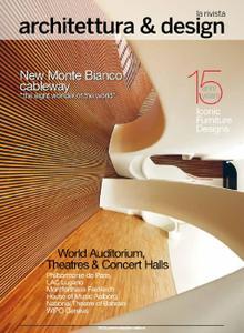 Rivista architettura und design 2016