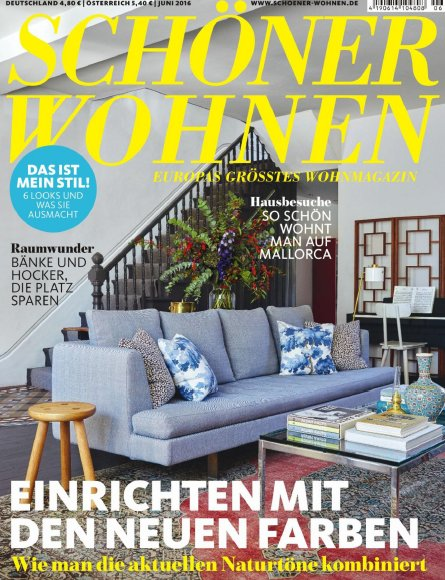 sch ner wohnen magazin jahresthema 2016. Black Bedroom Furniture Sets. Home Design Ideas