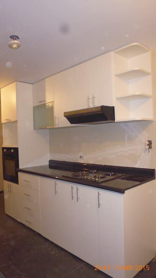 Muebles de melamina cocinas ba os closet y walk in closet for Muebles de cocina finsa