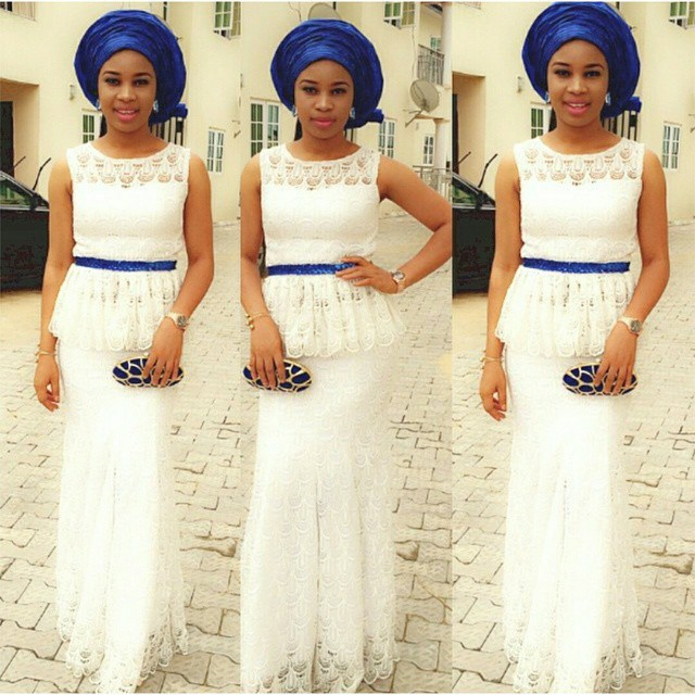 Beautiful Cord Lace Aso Ebi Styles | Fashion Qe