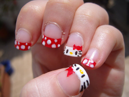 cute and easy nail art for children  fashion 2d