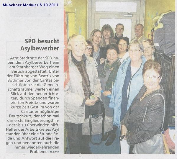 SPD-Besuch 2011