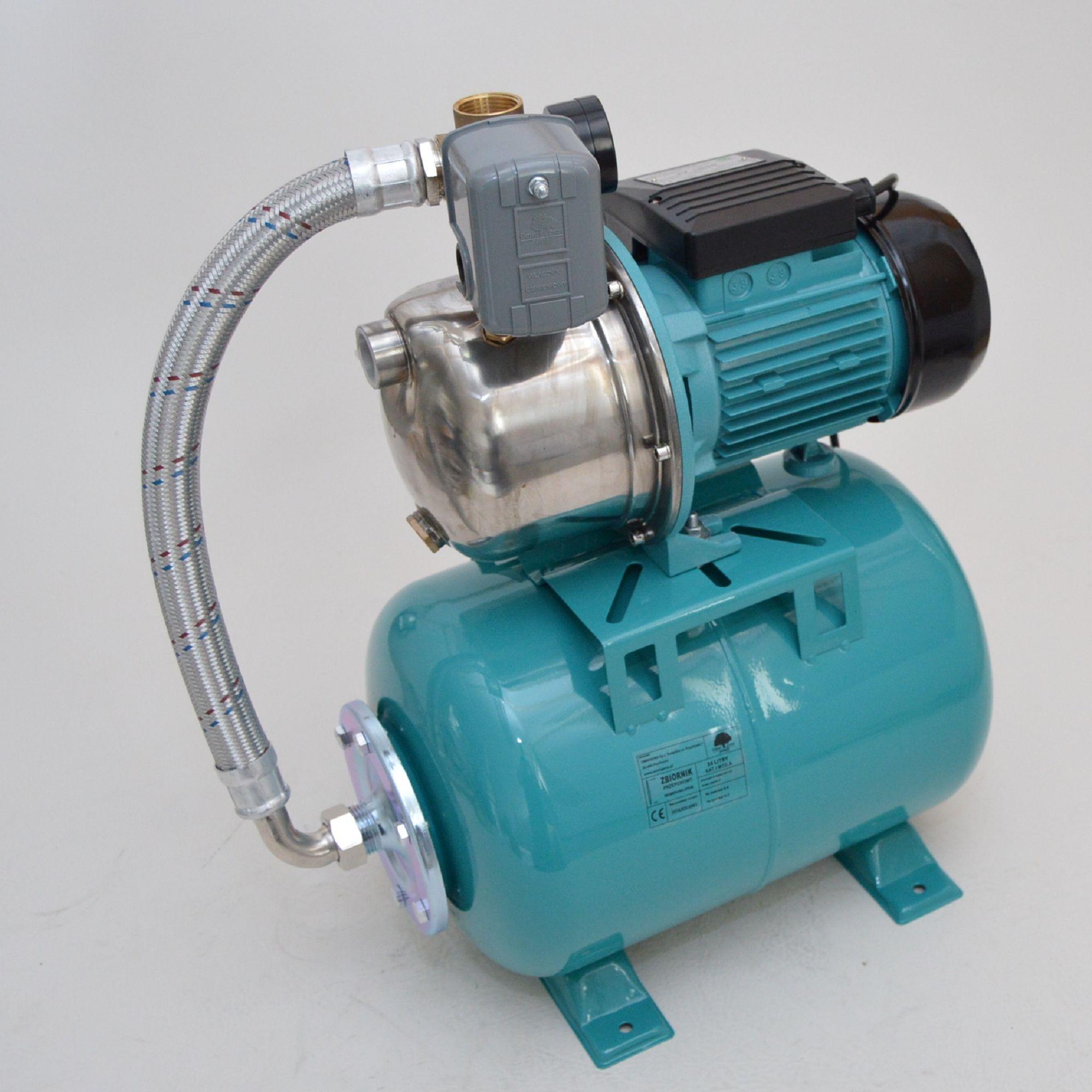 24 l hauswasserwerk pumpe 1100w mit druckschalter hauswasserautomat 5 bar ebay. Black Bedroom Furniture Sets. Home Design Ideas