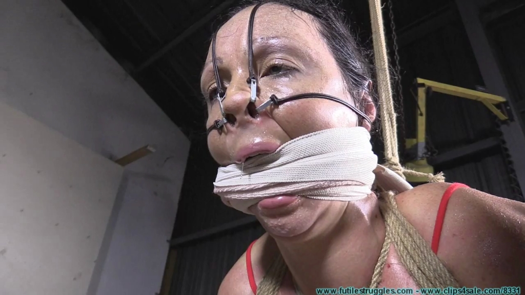 Summer tape bondage and milky boobs fuck 5