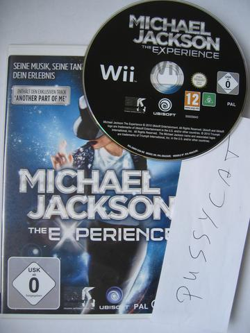 Michael Jackson The Experience Special Edition Pal Multi5 Wii-Pussycat