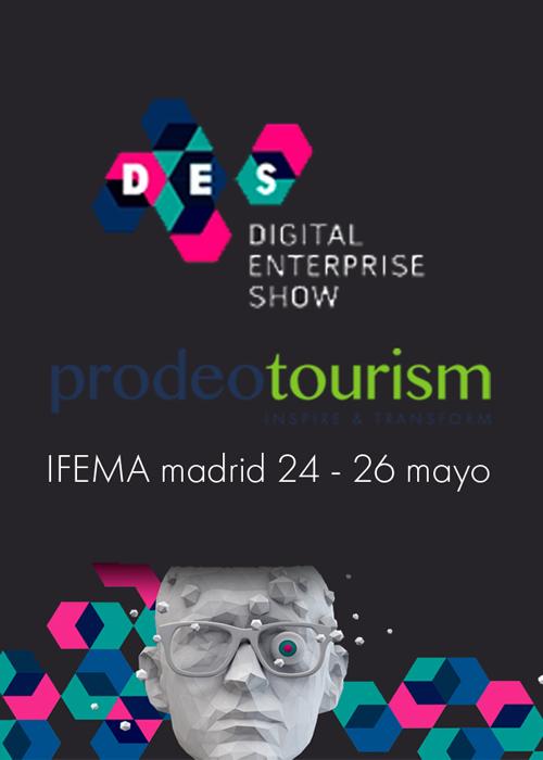 Prodeotourism en Digital Enterprise show
