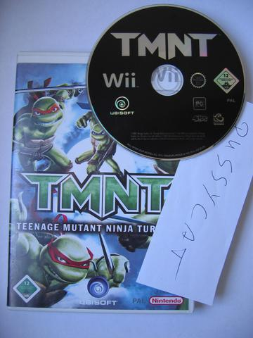 Teenage Mutant Ninja Turtles Proper Pal Multi5 Wii-Pussycat