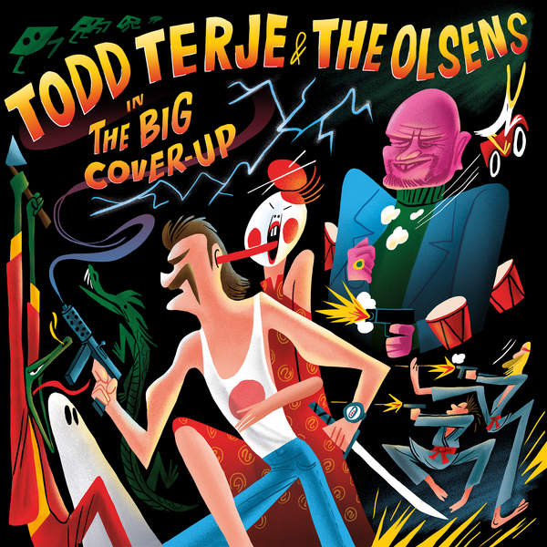 Todd Terje & The Olsens - The Big Cover-Up (2016)