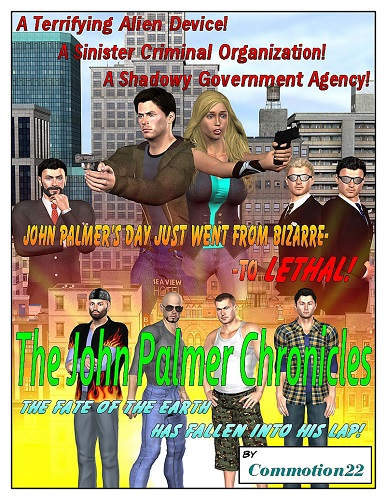 Commotion22 - The John Palmer Chronicles